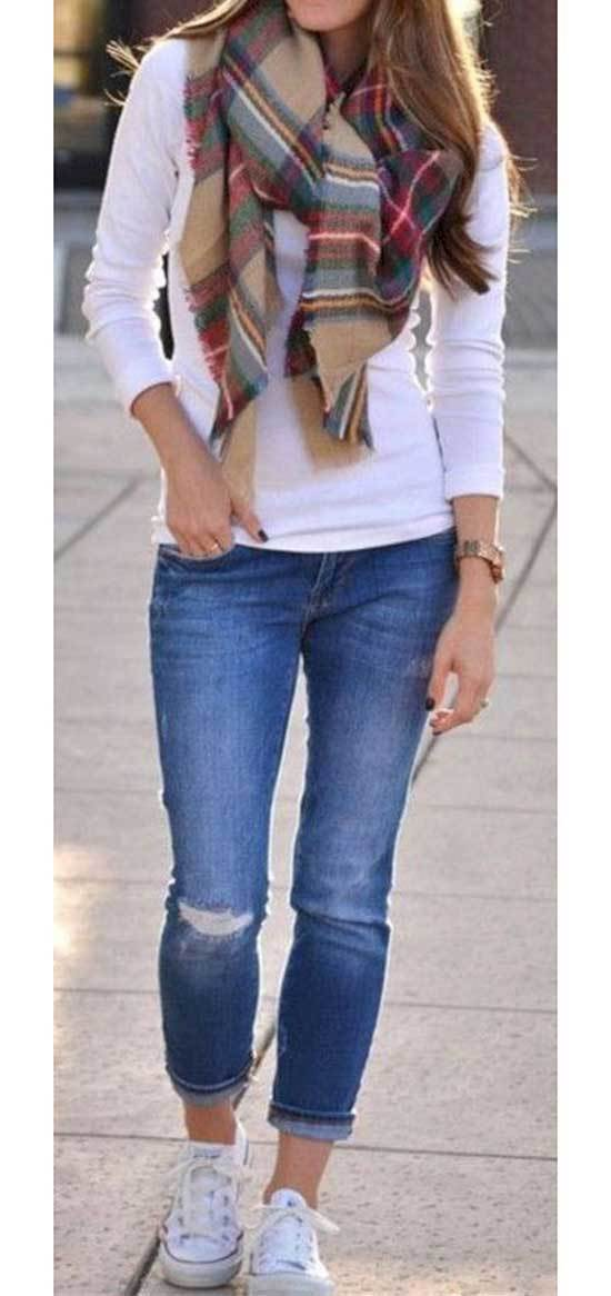 Fall Jeans Outfit Ideas