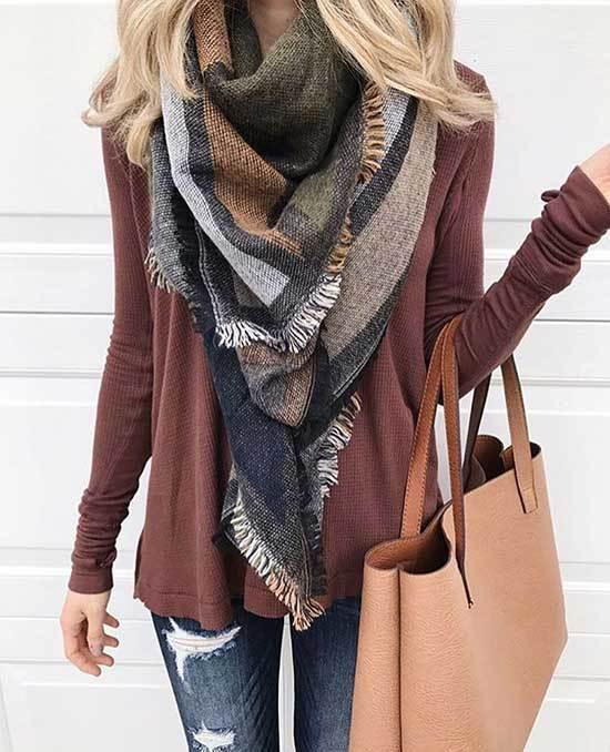 Fall Scarf Fashion