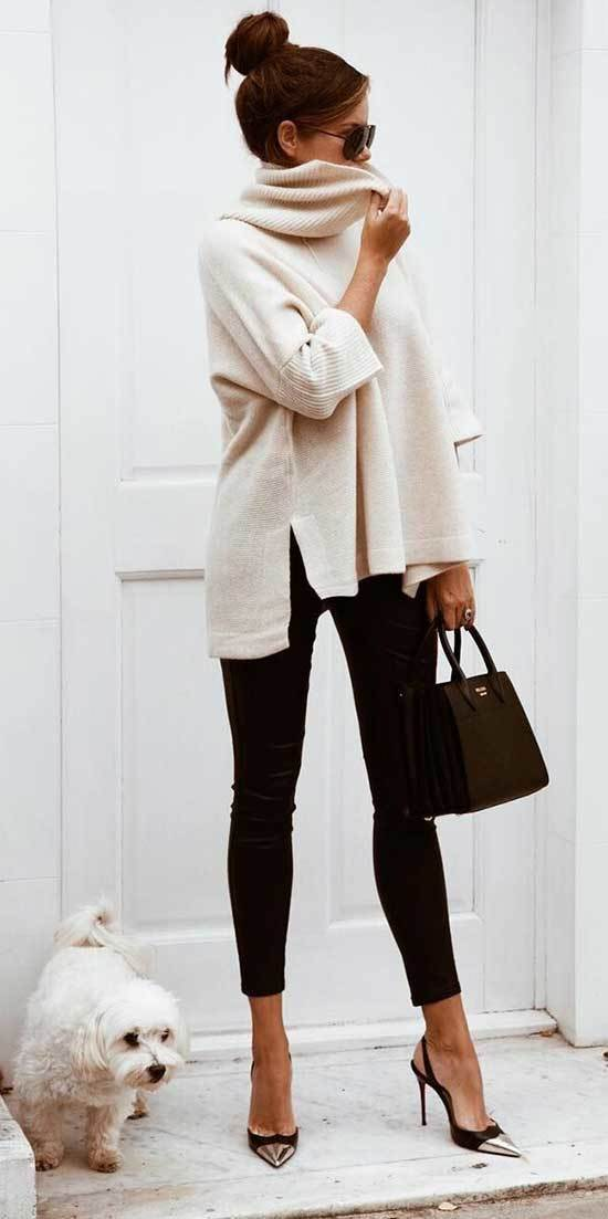 Minimal Fall Casual Work Outfits