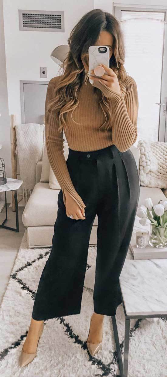 Professional Fall Casual Work Outfits