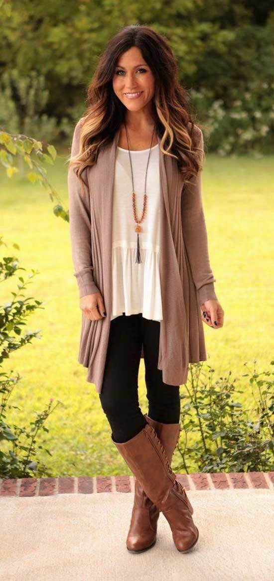 Simple Fall Casual Work Outfits