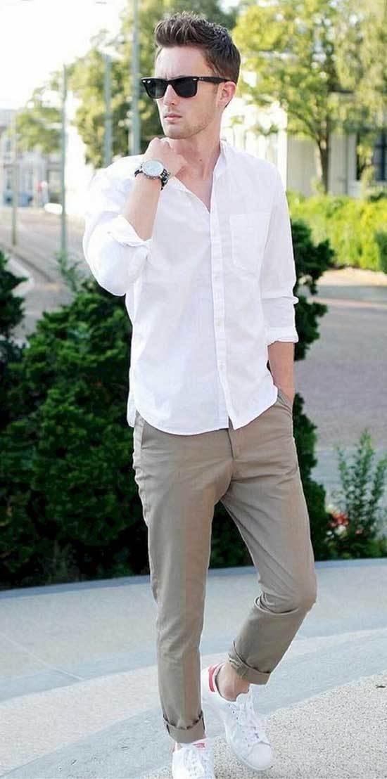 Summer Shirt Outfits Men