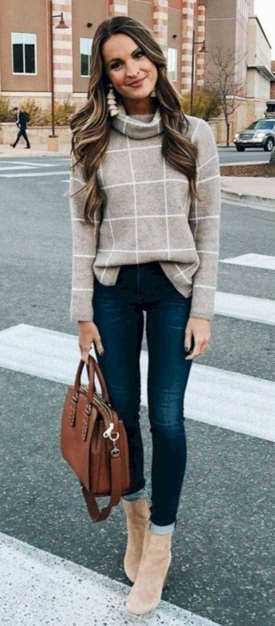 Street Style Fall Casual Work Outfits
