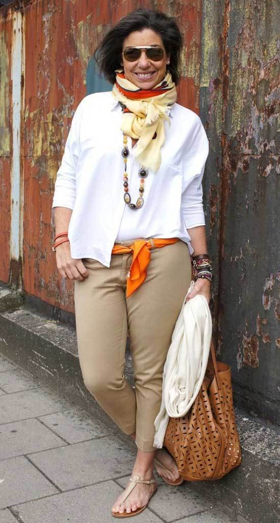 Street Style Fall Outfits for Women Over 50