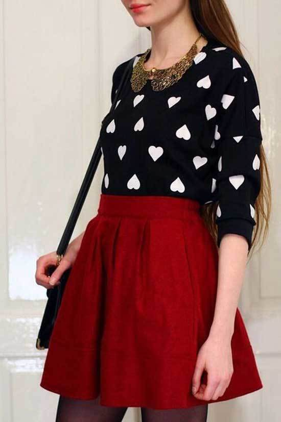 Cute Valentines Day Outfits-8
