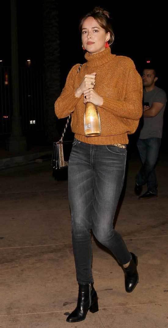 Chic Dakota Johnson Outfits