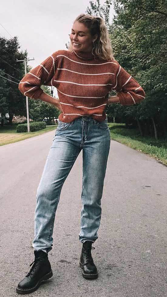 Chic Mom Jean Outfits