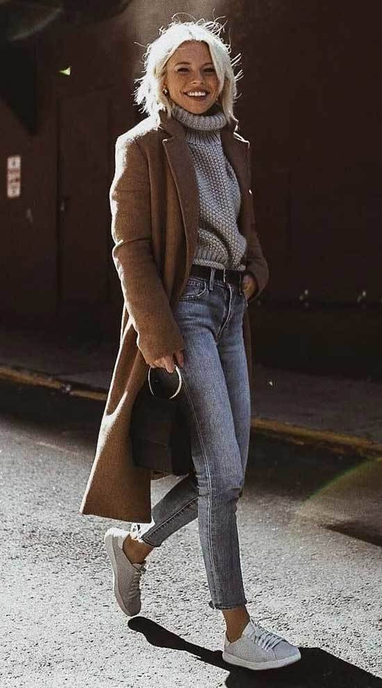 Cute Casual Coat Outfits for Winter