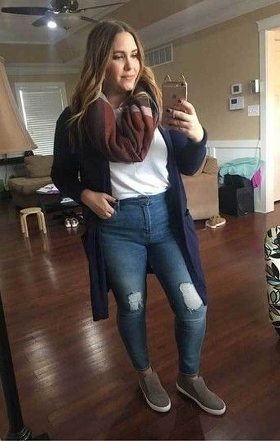 Cute Casual Plus Size Outfits for Winter