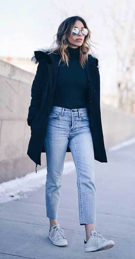 Fashionable Mom Jean Outfits