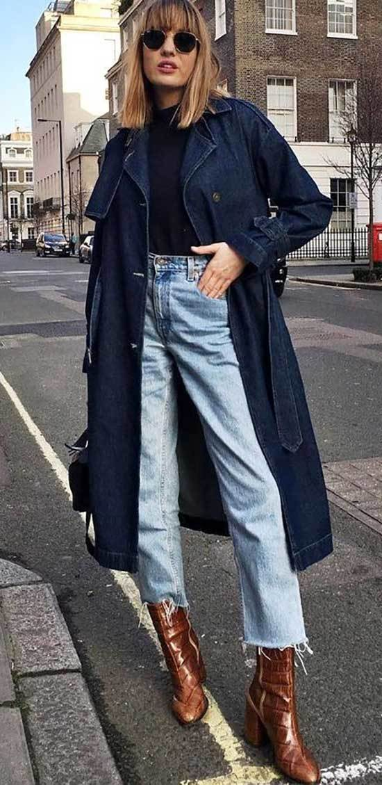 Street Style Mom Jean Outfits