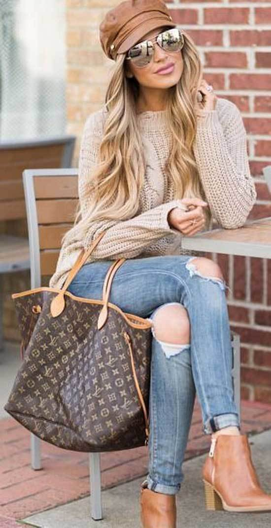 Winter Outfits with Jeans-22