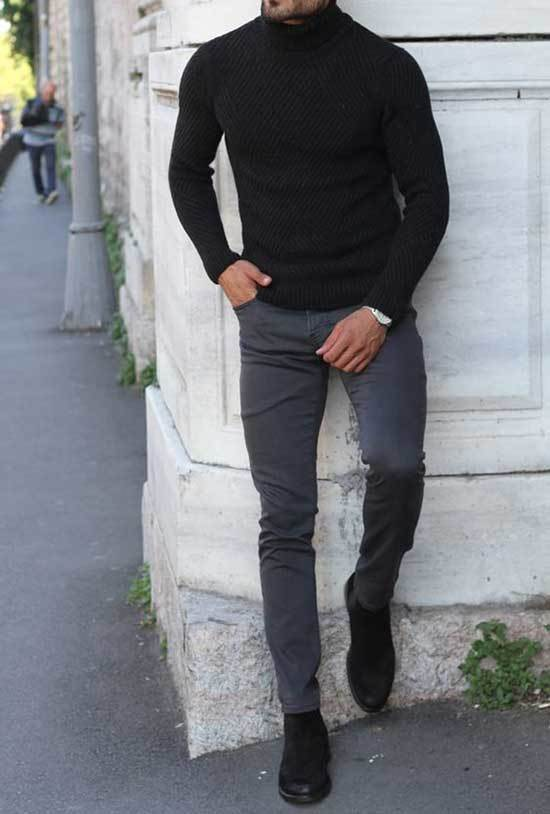Winter office Outfits Men-23