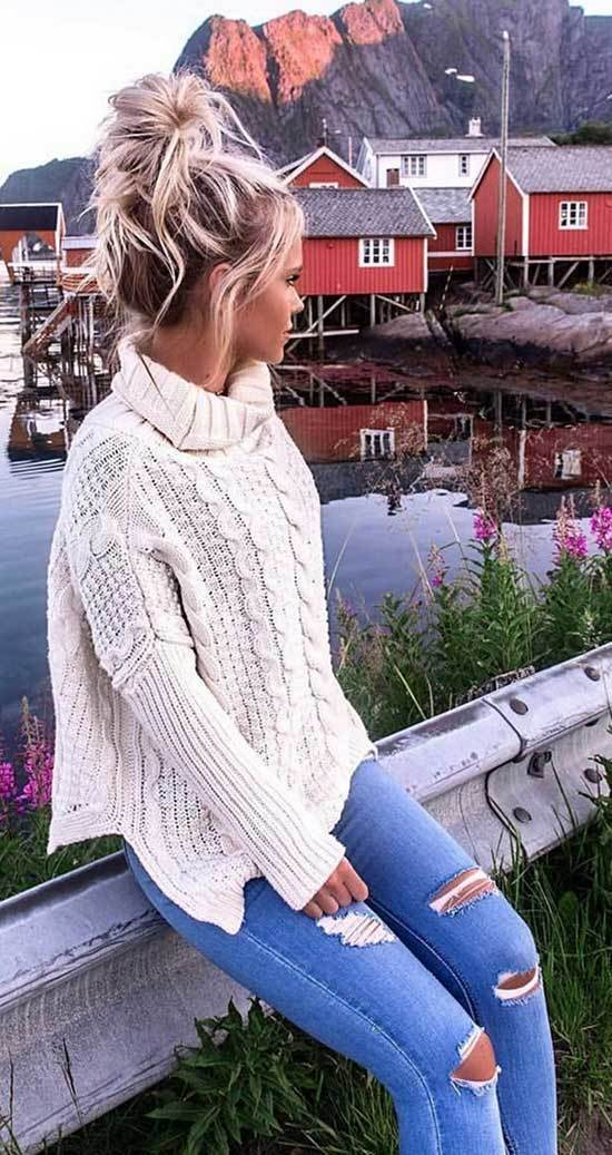Winter Outfits with Jeans-24