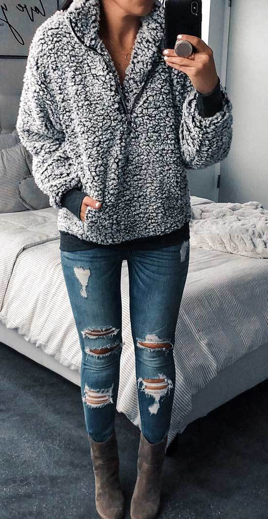 Winter Outfits with Jeans-25