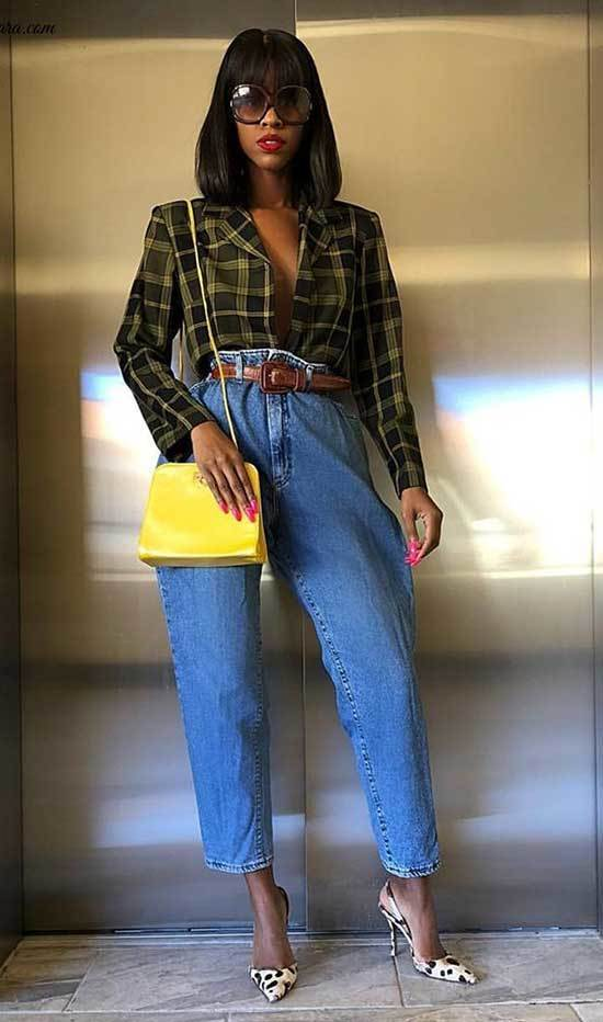 Winter Outfits with Baggy Jeans