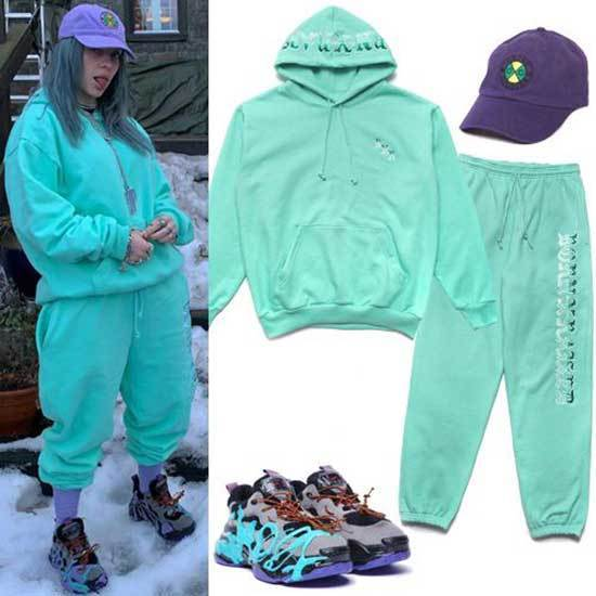 Billie Eilish Color Outfits