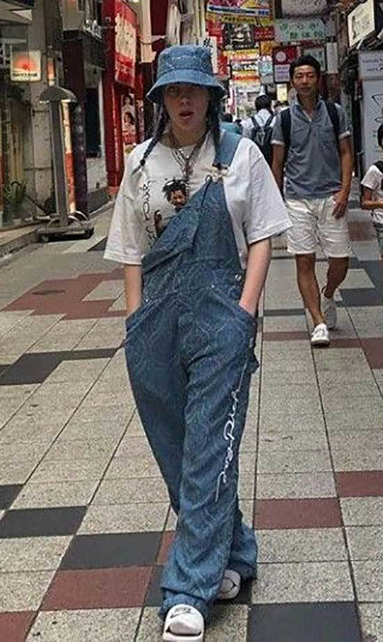 Billie Eilish Denim Outfits