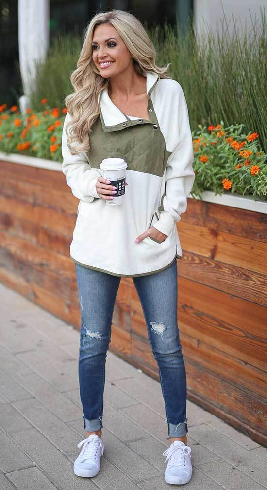 Winter Everyday Outfits with Jeans