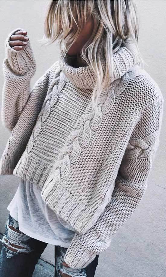 Stylish Winter Outfits with Jeans