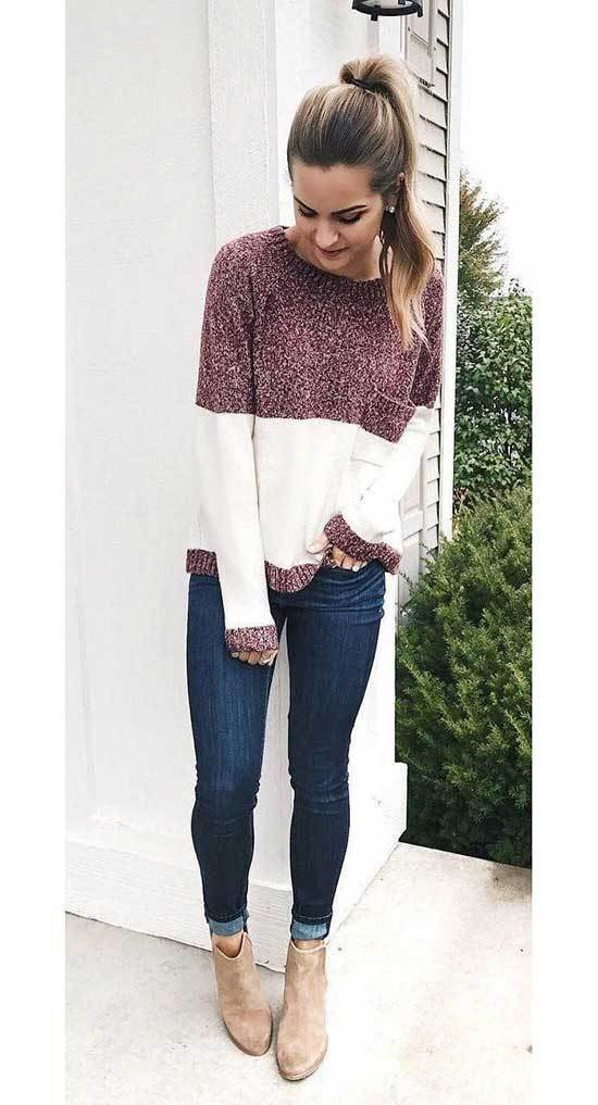 Chic Winter Outfits with Jeans