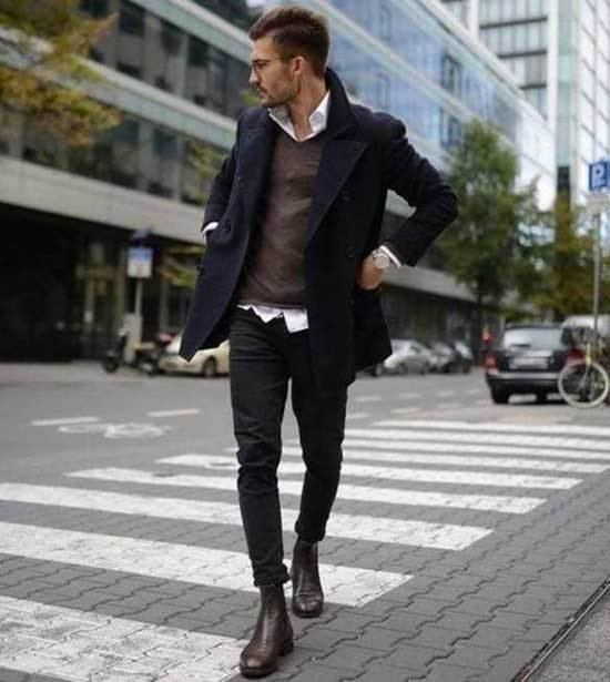 Men's Winter Business Casual Outfits