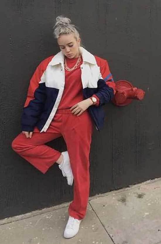 Billie Eilish Red Outfits
