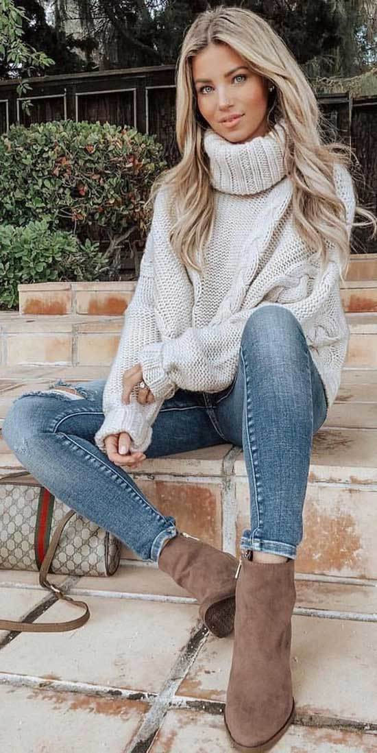 Winter Outfits with Jeans