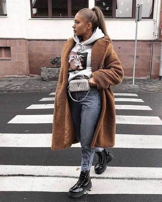Mom Jeans Street Style Winter 2019-10