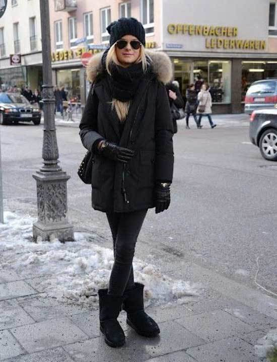 Ugg Boots Outfit Ideas-10