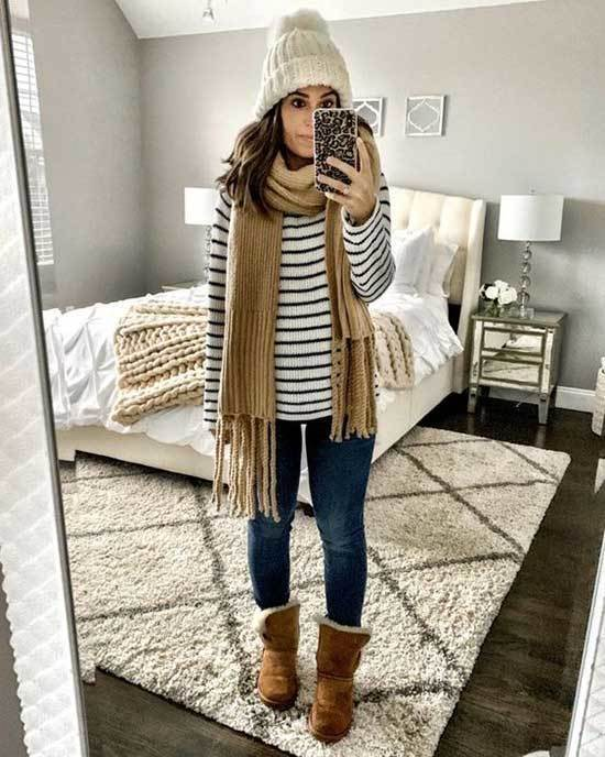 Ugg Boots Outfit Ideas-11