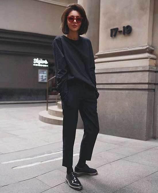 All Black Street Style Winter 2019-13