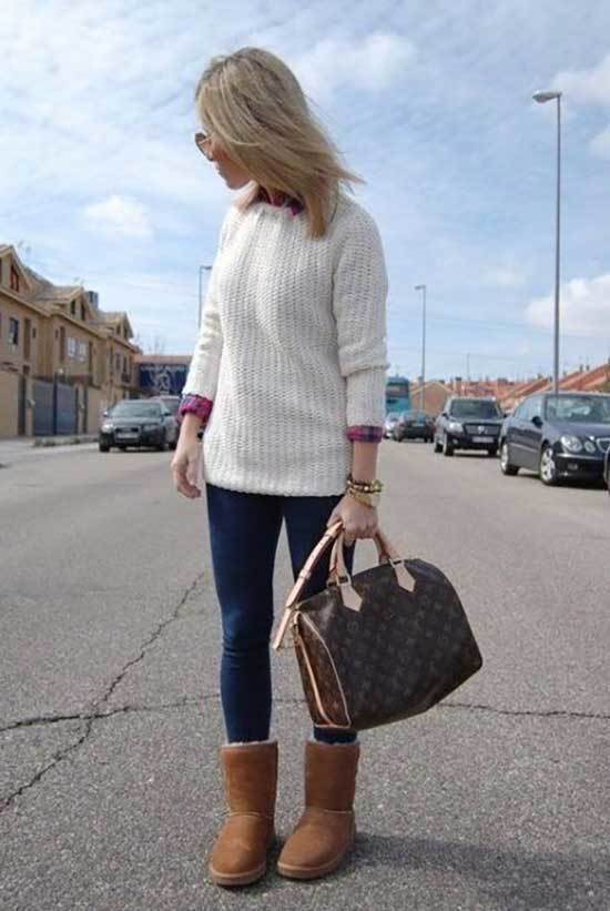 Ugg Boots Outfit Ideas-14
