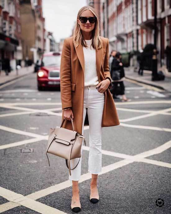 Trench Coat Outfit with Jeans Womens-15