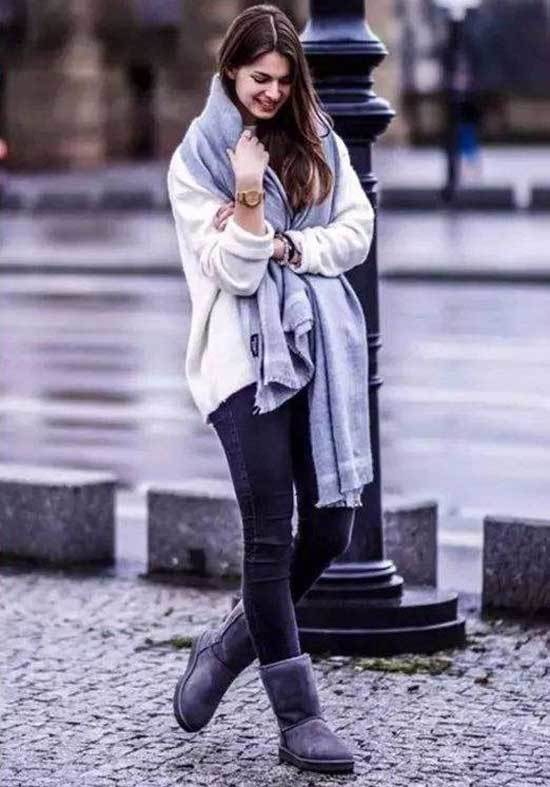 Ugg Boots Outfit Ideas-15