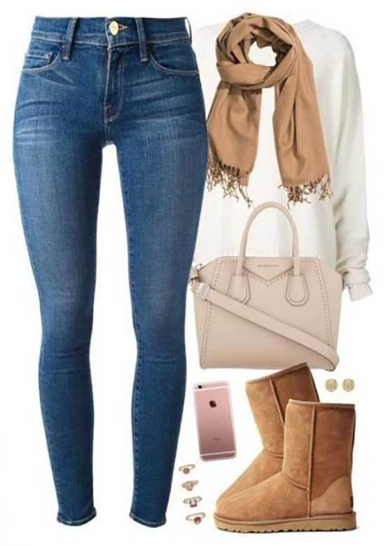 Ugg Boots Outfit Ideas-16