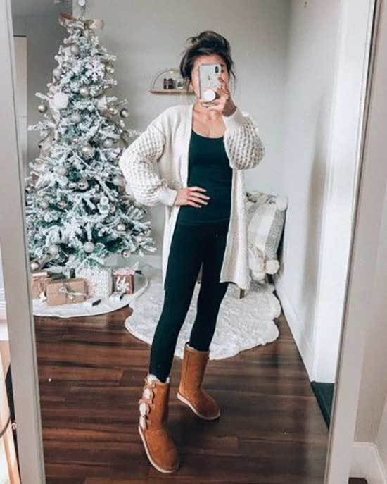 Ugg Boots Outfit Ideas-17