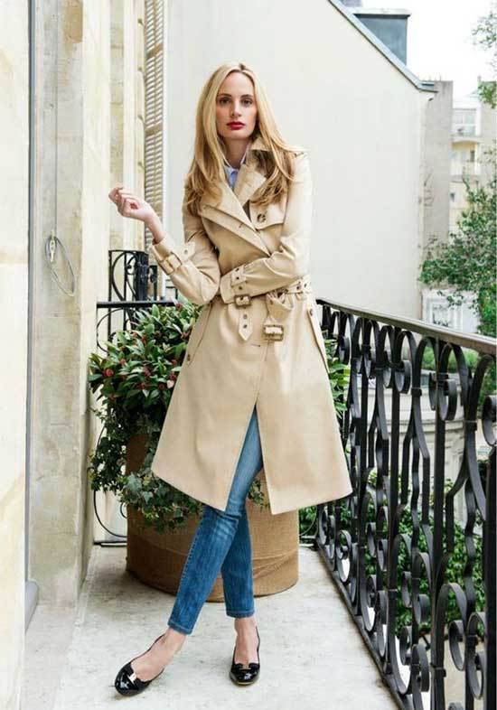 Trench Coat Outfit Womens-18