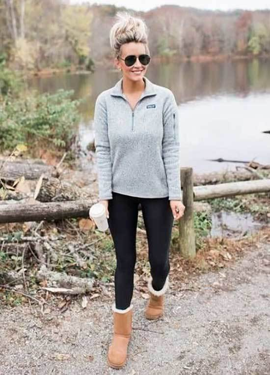 Ugg Boots Outfit Ideas-18