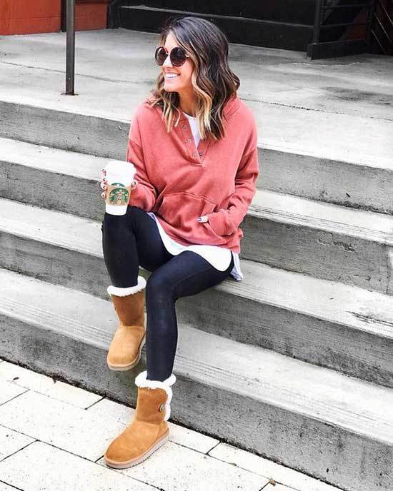 Ugg Boots Outfit Ideas-20