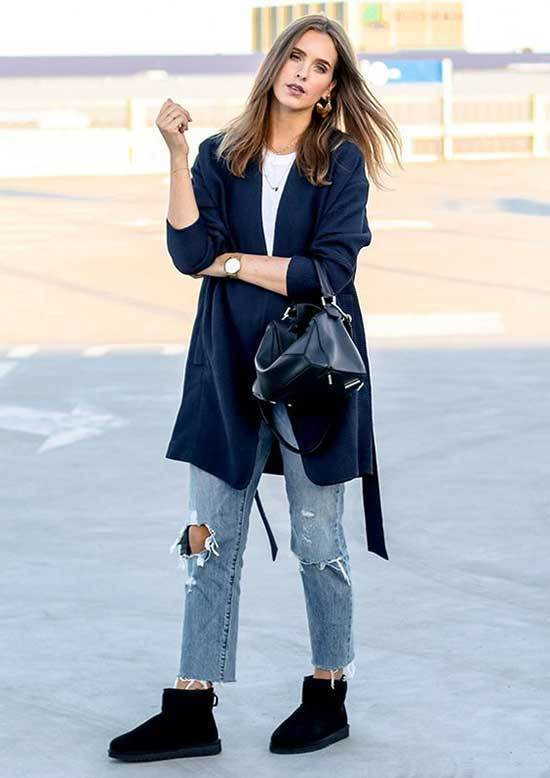 Ugg Boots Outfit Ideas-21
