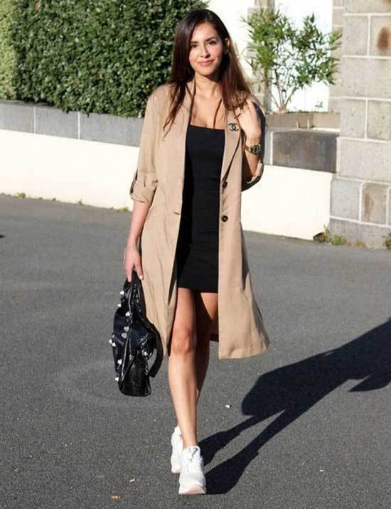 Trench Coat Outfit Womens-22