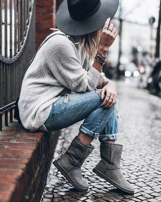 Ugg Boots Outfit Ideas-23