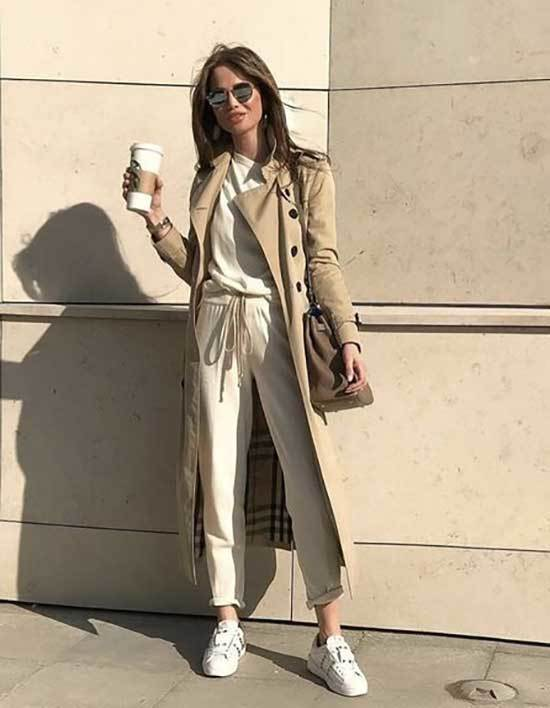 Trench Coat Outfit Womens-24