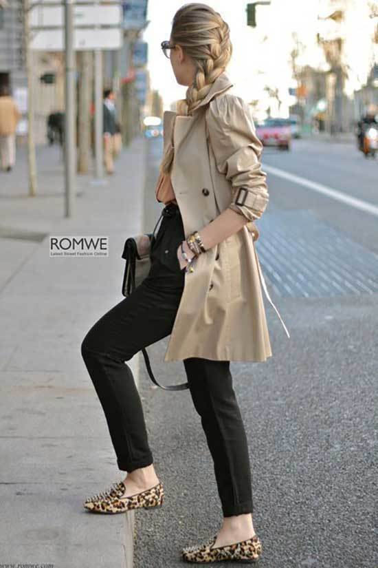Trench Coat Outfit Womens-25