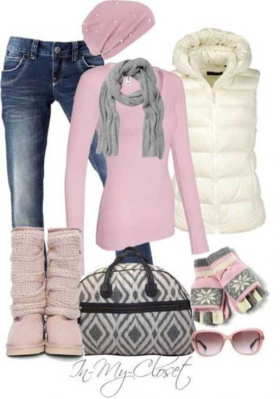 Ugg Boots Outfit Ideas-25
