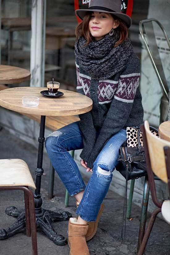 Ugg Boots Outfit Ideas-27