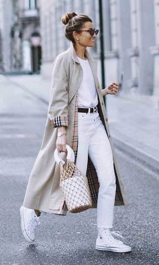 Trench Coat Outfit Womens-29