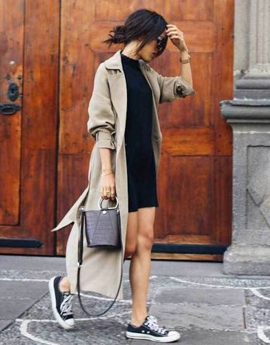 Trench Coat Outfit Womens-30