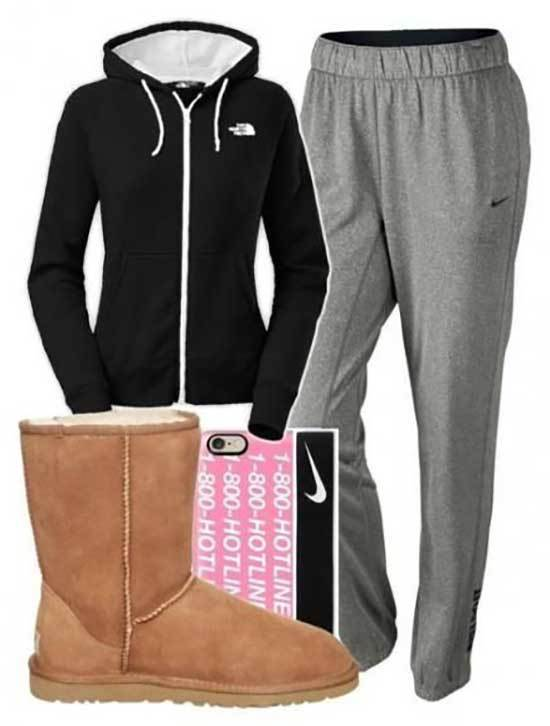 Ugg Boots Outfit Ideas-7